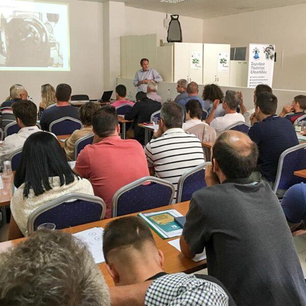 Εξαήμερο σεμινάριο ποιότητας και οργανοληπτικής Αξιολόγησης Ελαιολάδου από το Ελληνικό Μεσογειακό πανεπιστήμιο και το Εργαστήριο μας.